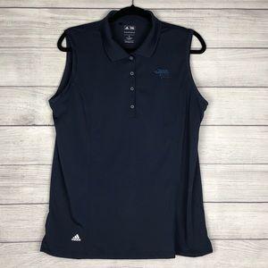 Adidas Golf Women's XL Sleeveless Polo Navy
